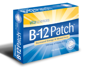 Vitamin B12 Patch for chronic pain management