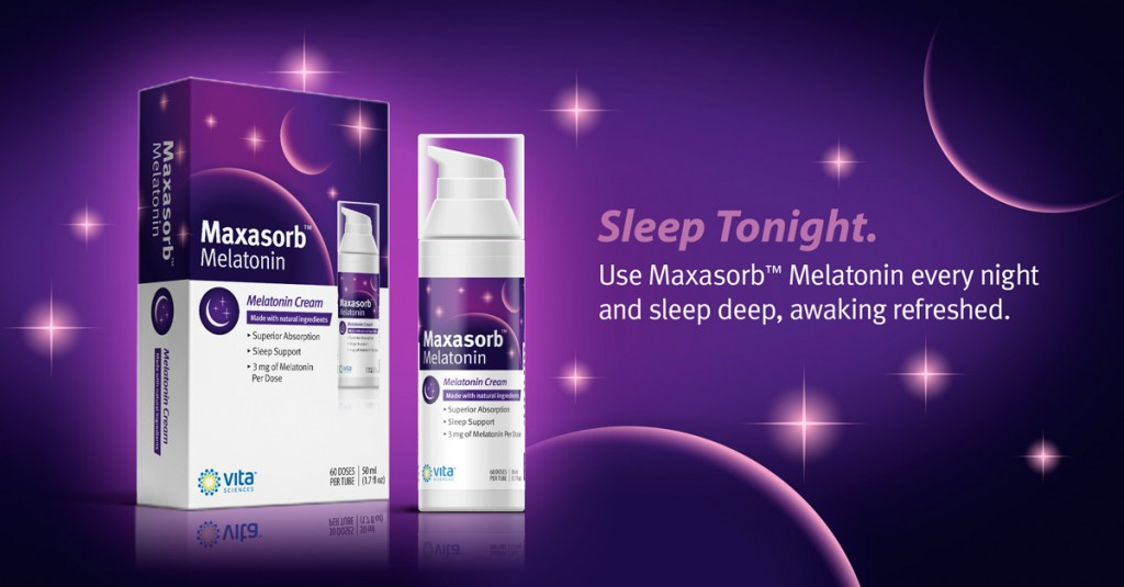 Topical melatonin cream for sleep