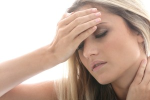 Migraine headache and vertigo dizziness