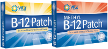 Get the Vitamin B12 Patch- Now available with Methyl-B12 !