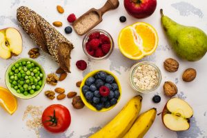 fiber, fruit, vegetable, grains, whole grain, colon, gut, health, beans