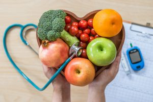 heart disease, heart health, fruits, vegetables